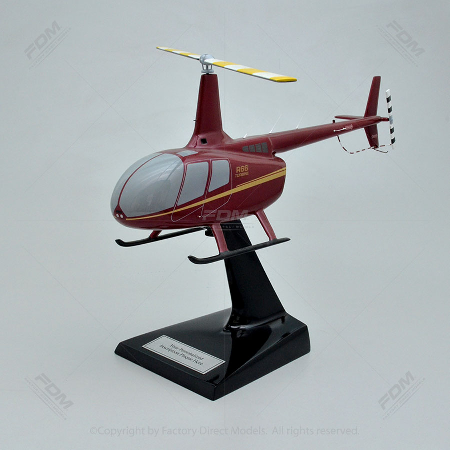 Robinson R66 Scale Model Helicopter