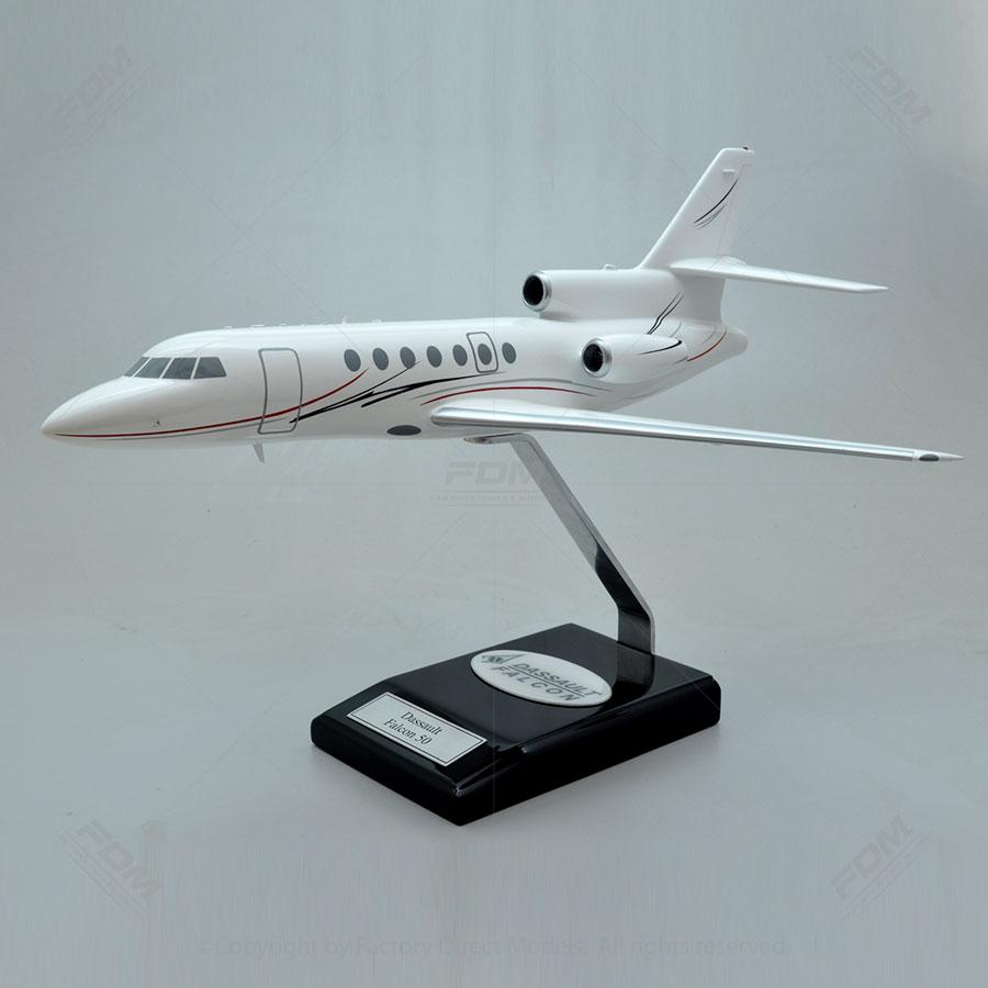 Dassault Falcon 50 Scale Model