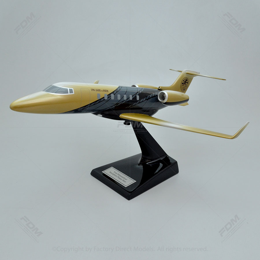 Bombardier Learjet 85 with Living Legends of Aviation Paint Scheme Scale Model Airplane