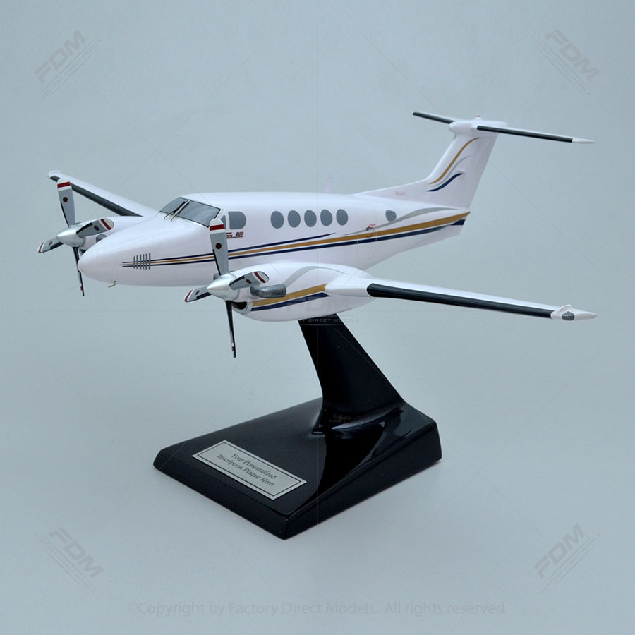 Beechcraft 200 Super King Air Scale Model Airplane