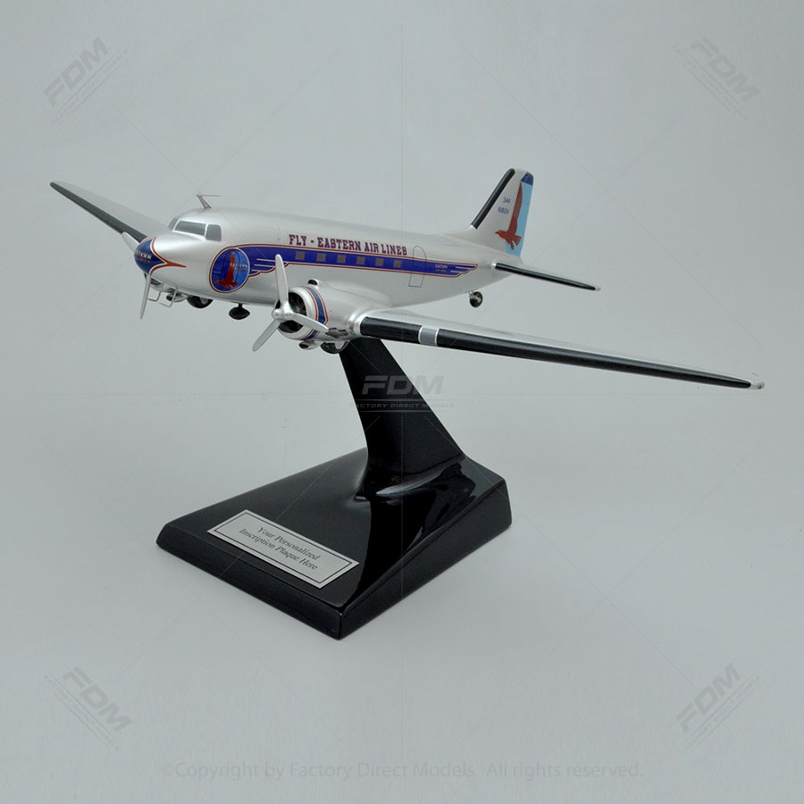 Douglas DC-3 Fly Eastern Airlines Model Airplane