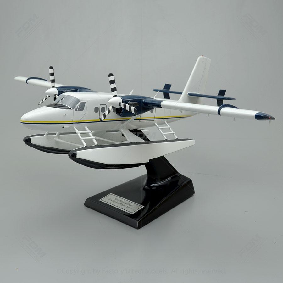 de Havilland DHC-6-400 Twin Otter on Floats Model