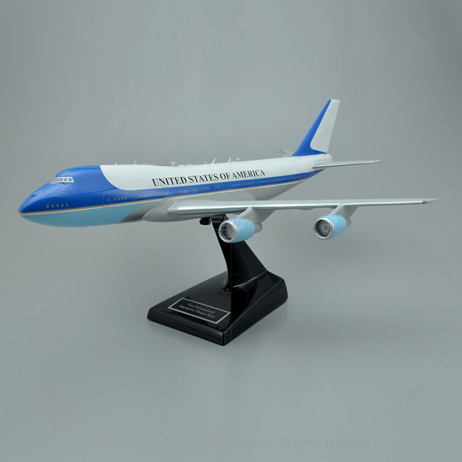 Boeing VC-25 Air Force One Scale Model Airplane