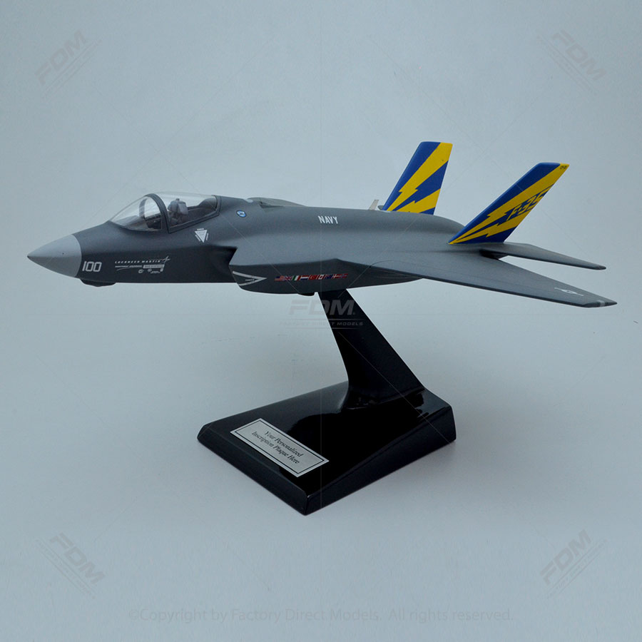 Lockheed Martin F-35C Lightning II Scale Model Aircraft