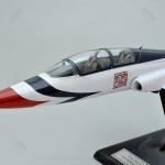 Northrop T-38A Talon with Thunderbird Paint Scheme Clear Cabin Scale Model Aircraft
