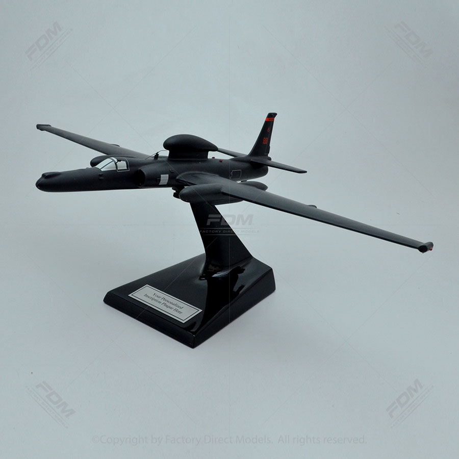 "Lockheed U-2S ""Dragon Lady"" Scale Model Aircraft"