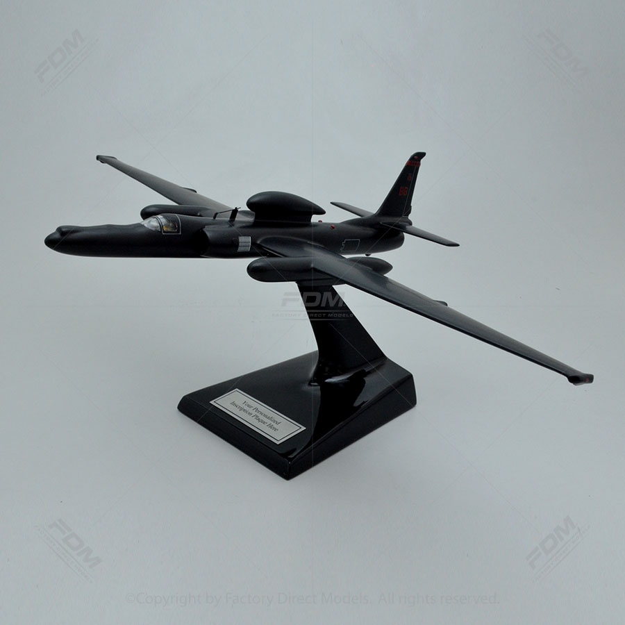 Lockheed U-2S Dragon Lady Model with Detailed Interior