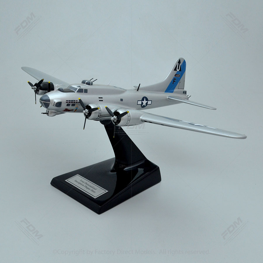 "Boeing B-17G ""Sentimental Journey"" Model Airplane"