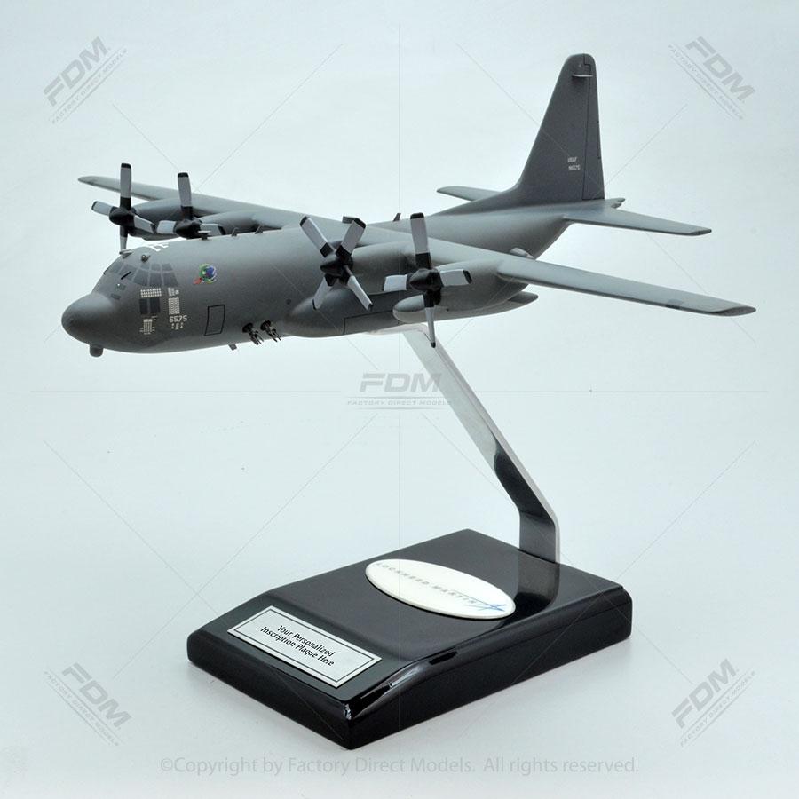 Lockheed AC-130H Gray USAF Camou Gunship Scale Model