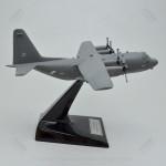 Lockheed AC-130H Gray USAF Camou Gunship Scale Model Airplane
