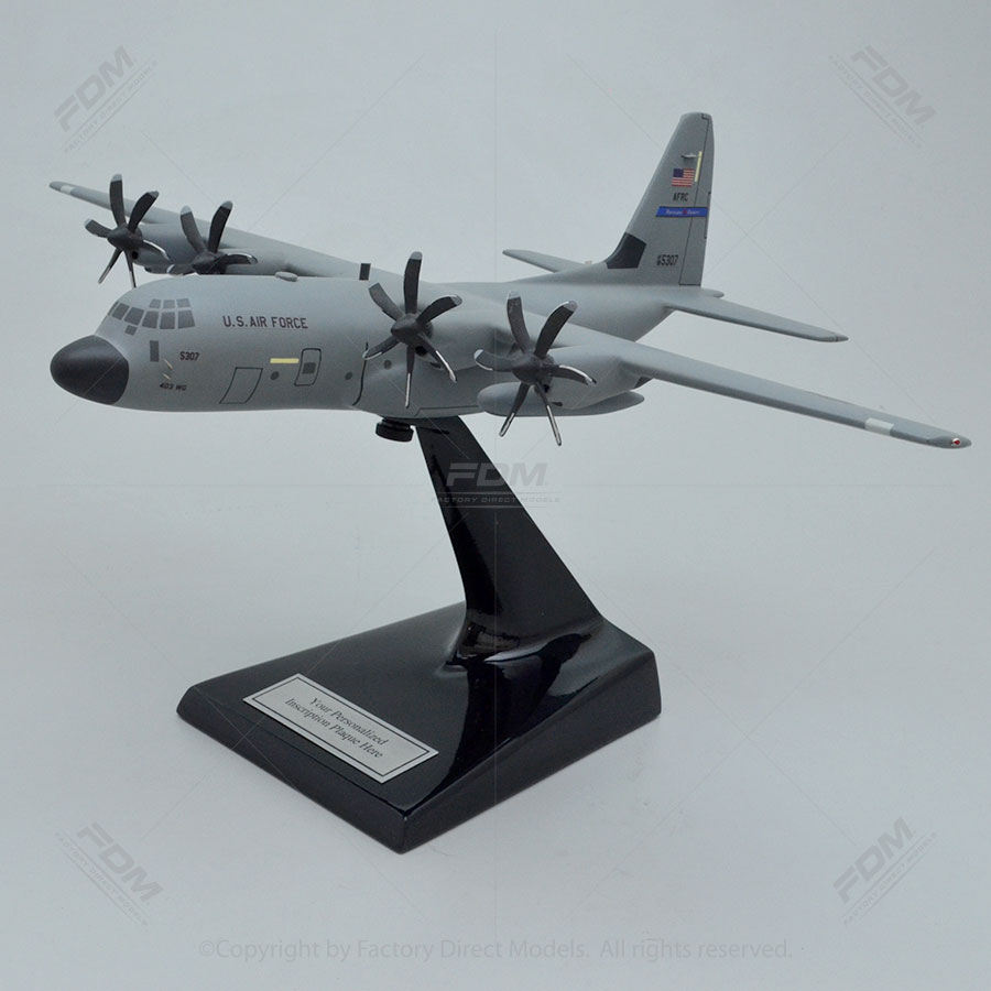 Lockheed WC-130J Weatherbird Model