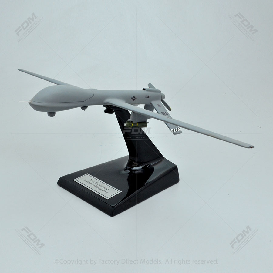 General Atomics MQ-1B USAF Predator UAV Model