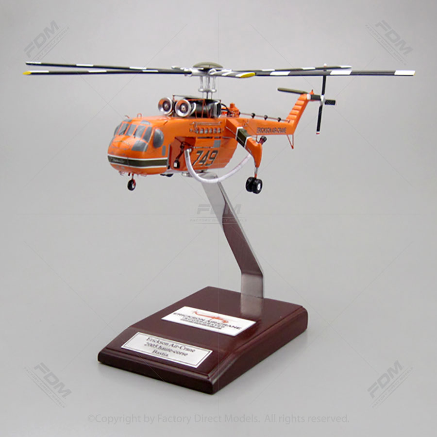 Sikorsky S-64 Skycrane Ericson Air-Crane Model