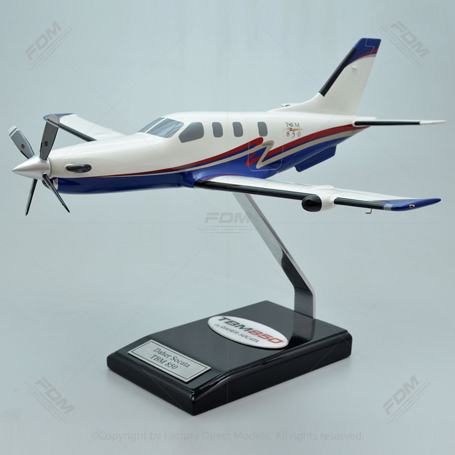 Daher-Socata TBM 850 Model Airplane