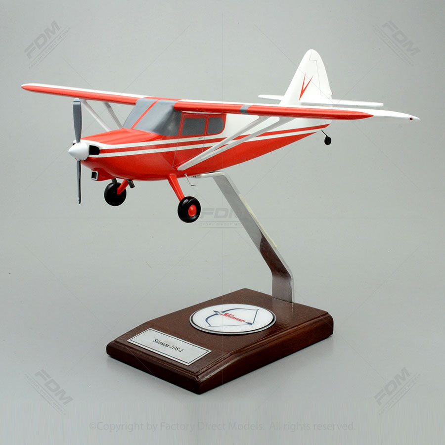 Stinson 108-1 Airplane Model