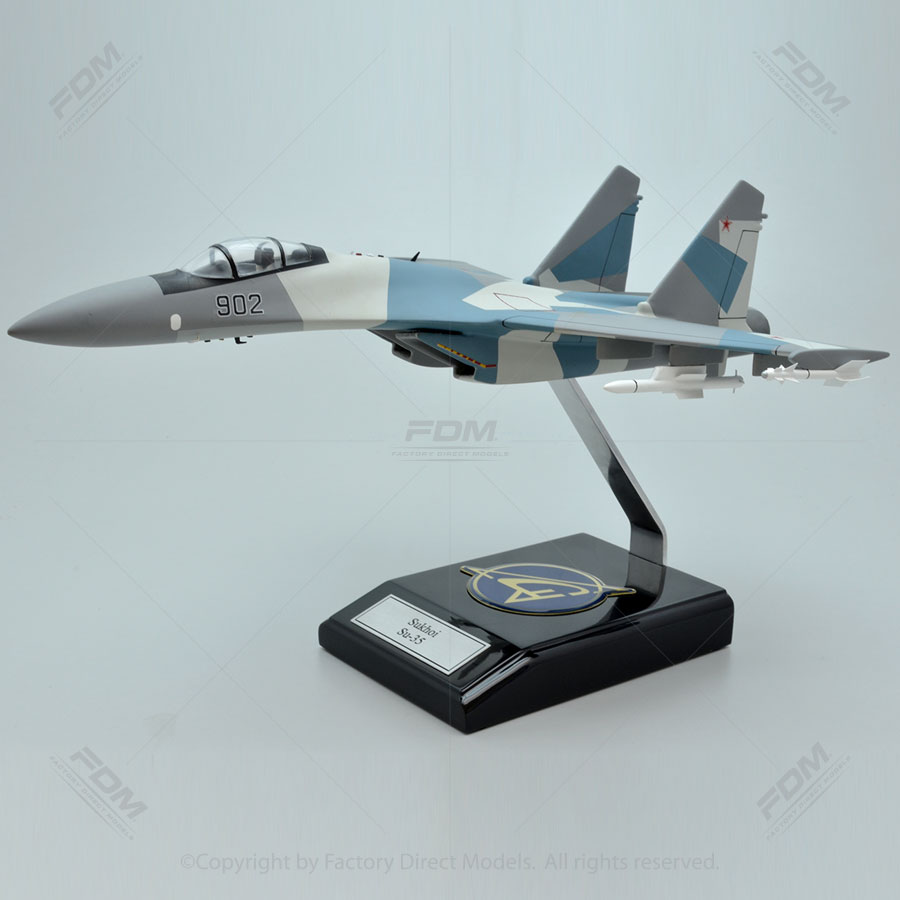 Sukhoi Su-35 Super Flanker Model with Detailed Interior