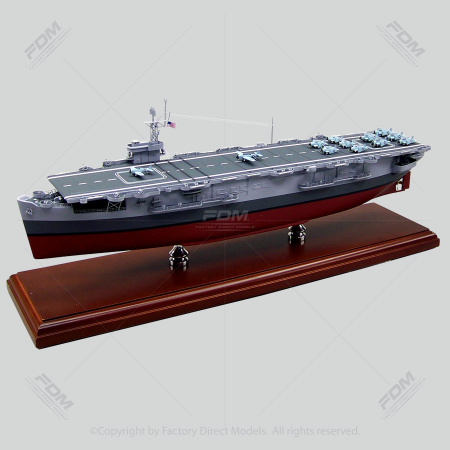 USS Card (CVE-11) Model Ship