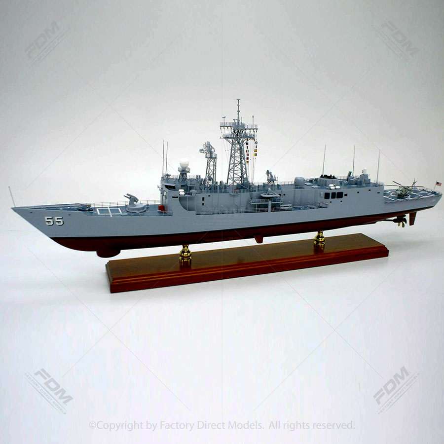 USS Elrod (FFG-55) Model Ship