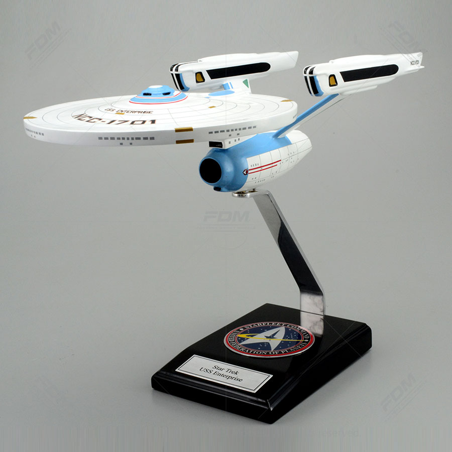 USS Enterprise Spacecraft Model From the TV Series Star Trek