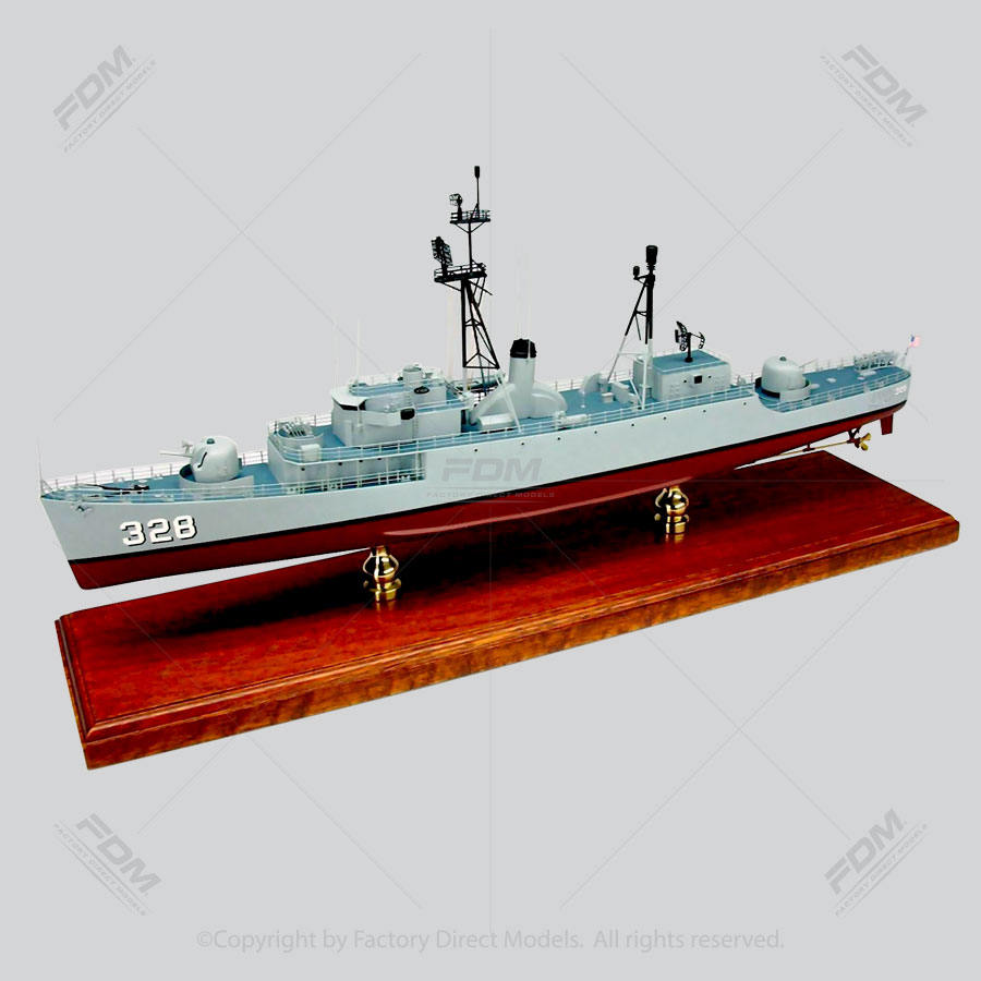 USS Finch (DE-328) 2 Model Ship