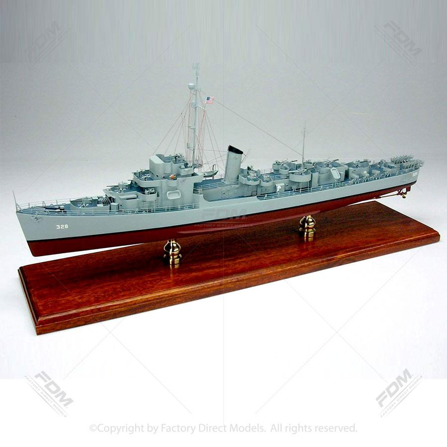 USS Finch (DE-328) Model Ship