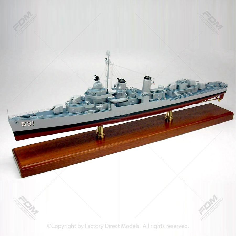 USS Hazelwood DD-531 Ship Model