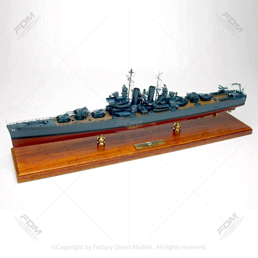 USS Helena (CL-50) Model Ship