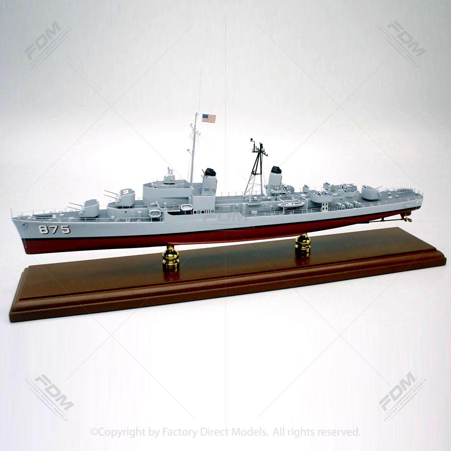 USS Henry W. Tucker (DDR-875) Ship Model