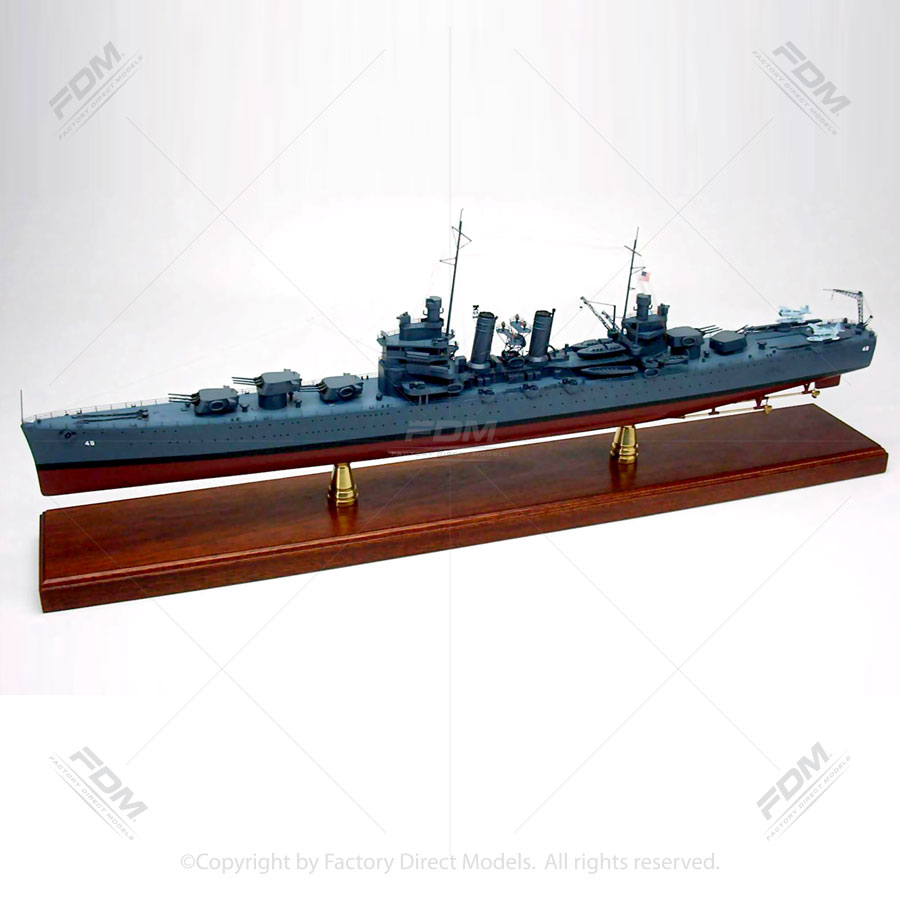 USS Honolulu (CL-48) Model Ship