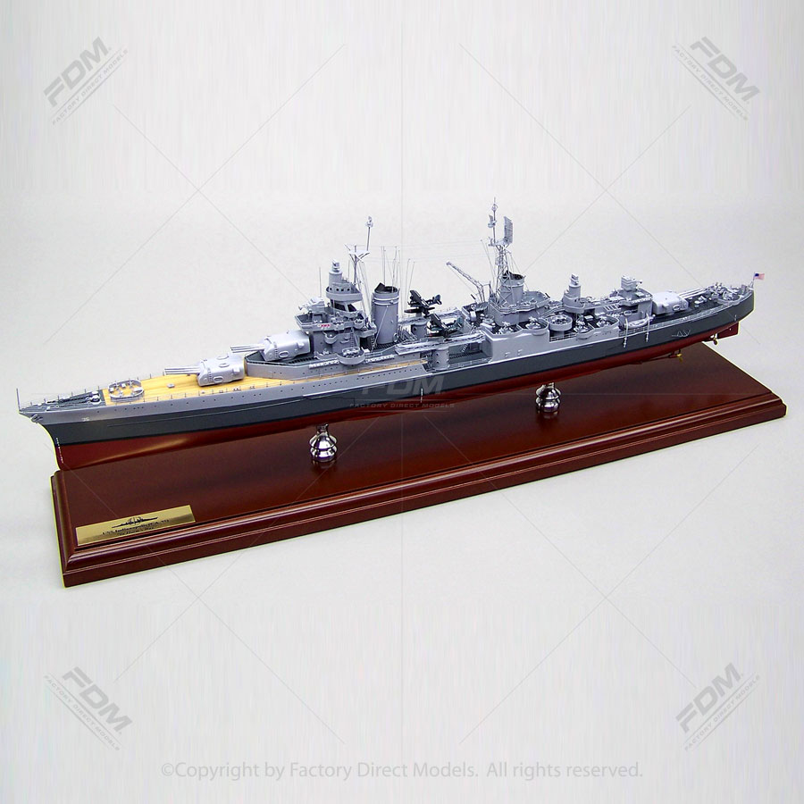 USS Indianapolis (CA-35) Model Ship