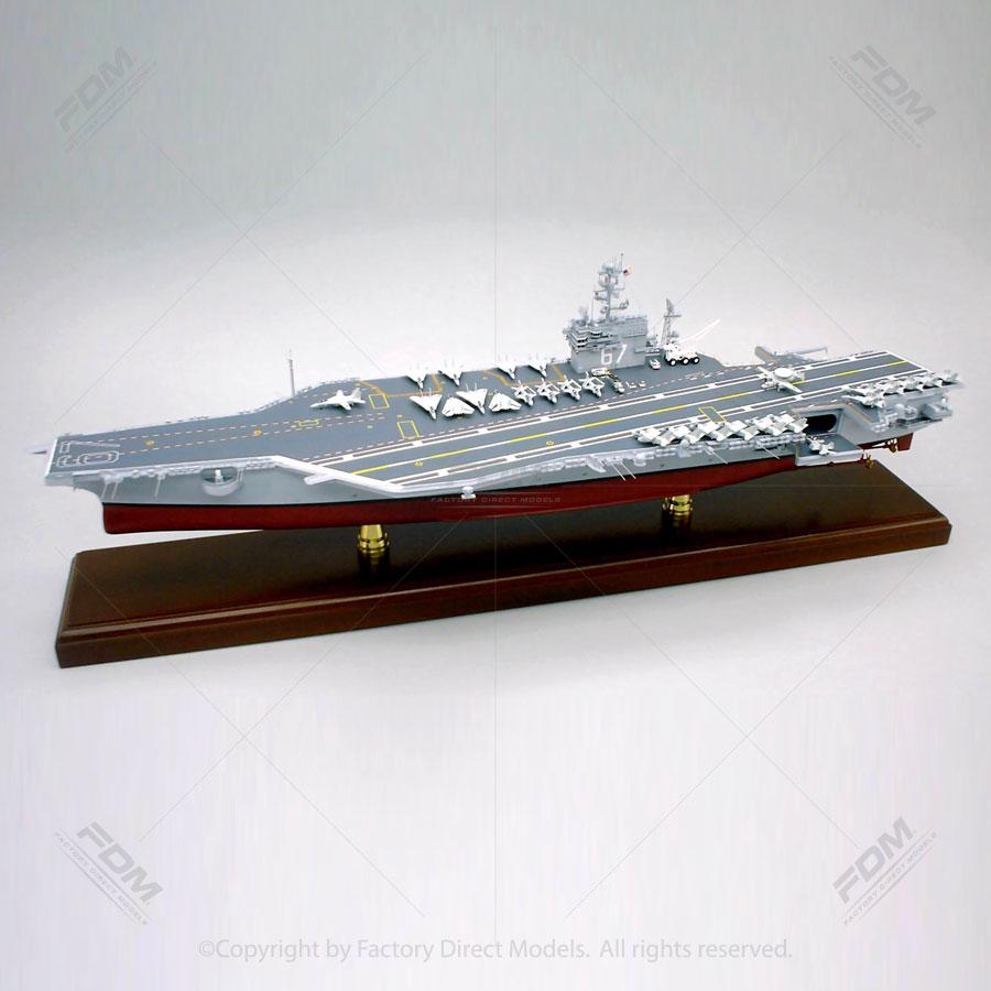 USS John F. Kennedy (CV-67) Aircraft Carrier Model