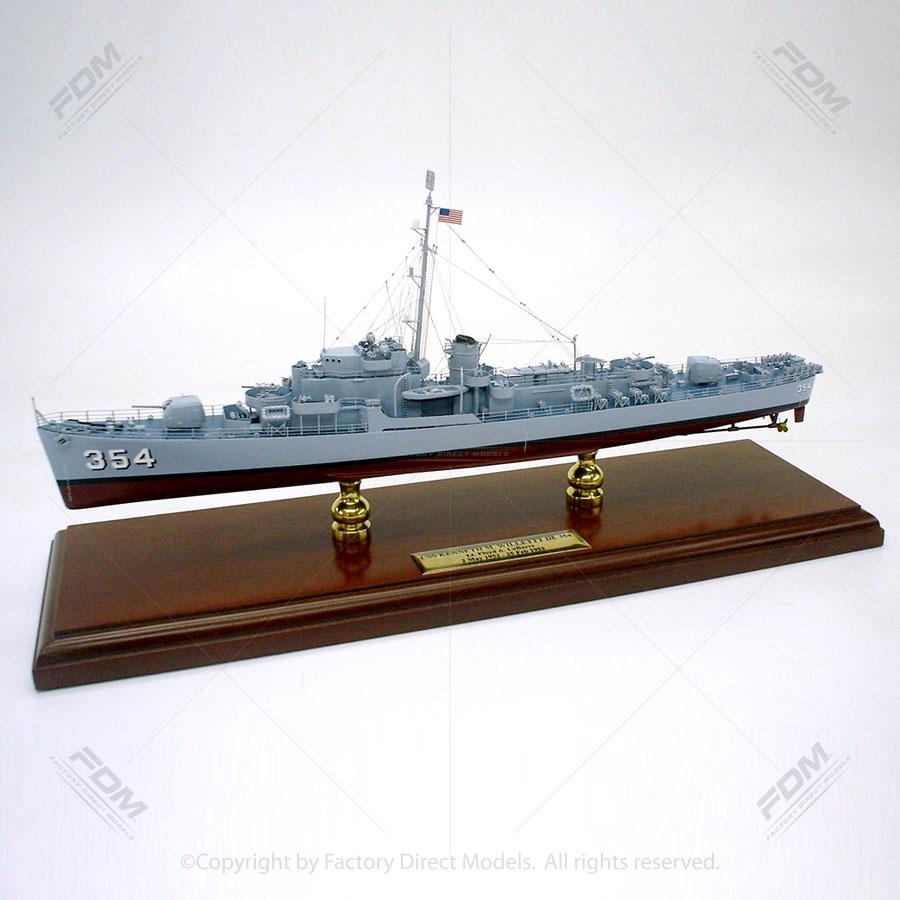 USS Kenneth M. Willett (DE-354) Model Ship