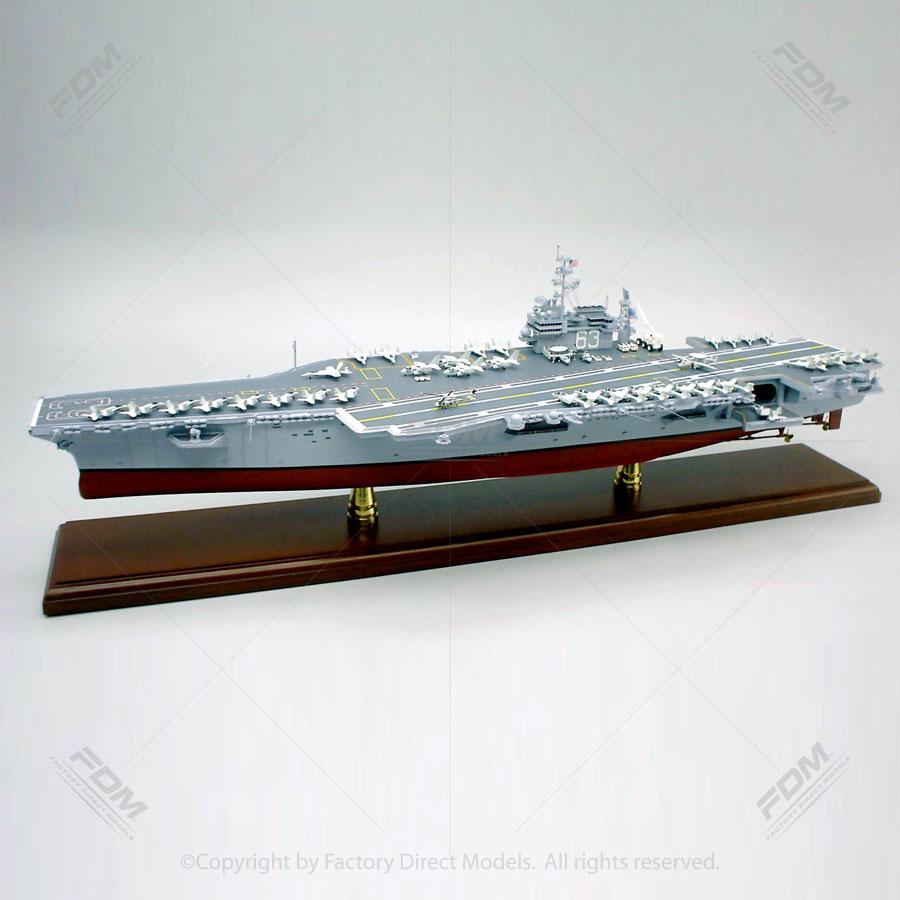 USS Kitty Hawk (CV 63) Aircraft Carrier Model Ship