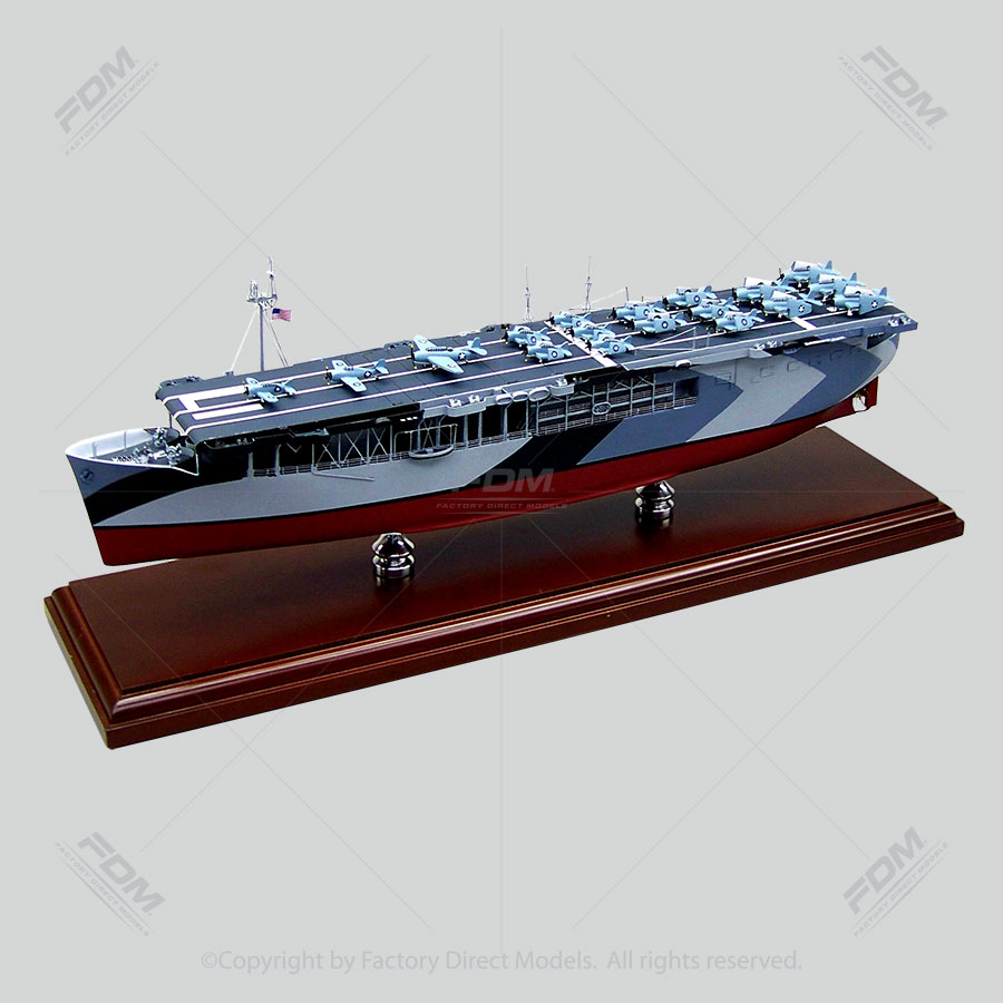 USS Long Island (CVE-1) Model Ship