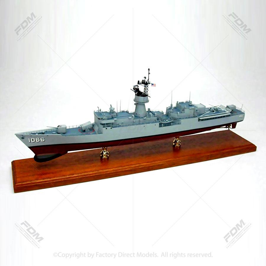 USS Marvin Shields (DE-1066) Model Ship