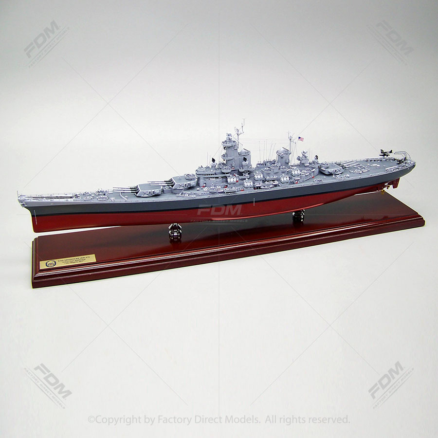 USS Missouri (BB-63) Model Ship