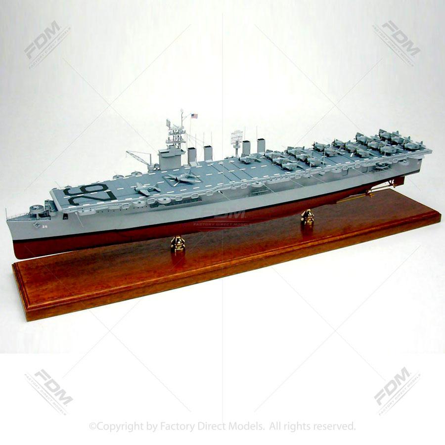 USS Monterey (CVL-26) Model Aircraft Carrier