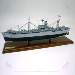 USS Muliphen (AKA-61) Model Ship