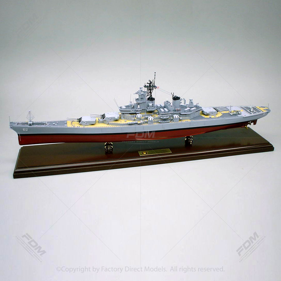 USS New Jersey (BB-62) Model Ship