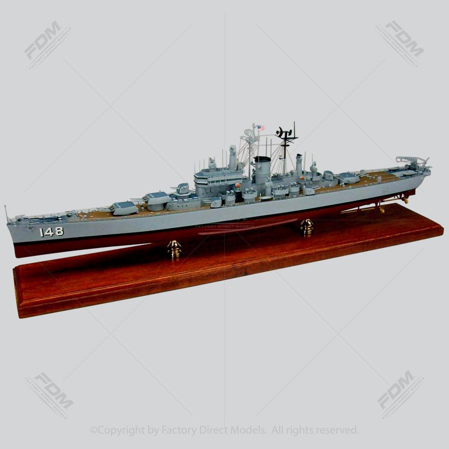 USS Newport News (CA-148) Model Ship