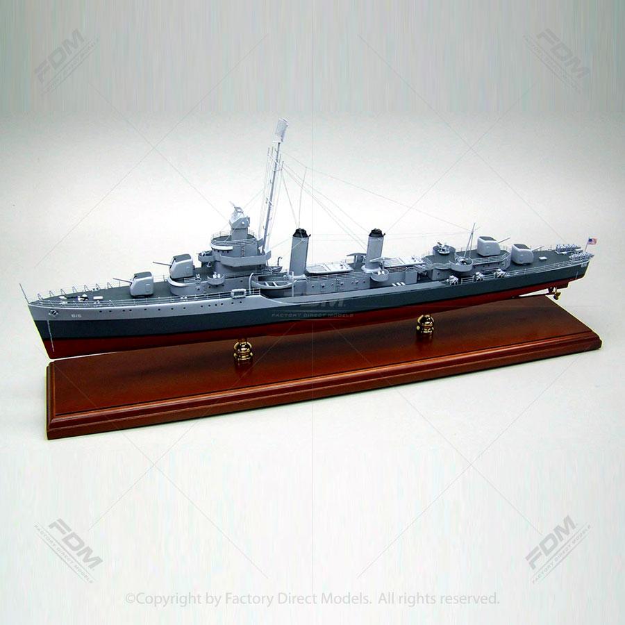 USS Nields (DD-616) Model Ship