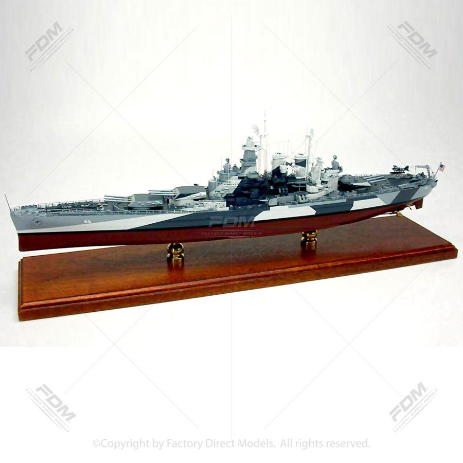 USS North Carolina (BB-55) Model Ship
