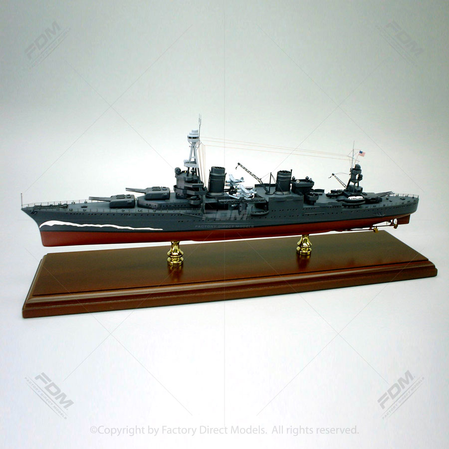 USS Northampton (CA-26) Model Ship