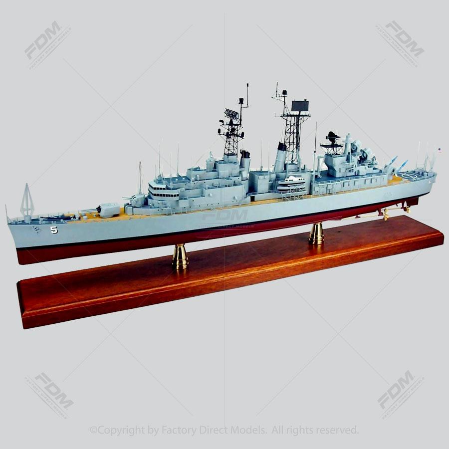 USS Oklahoma City (CLG-5) Model Ship