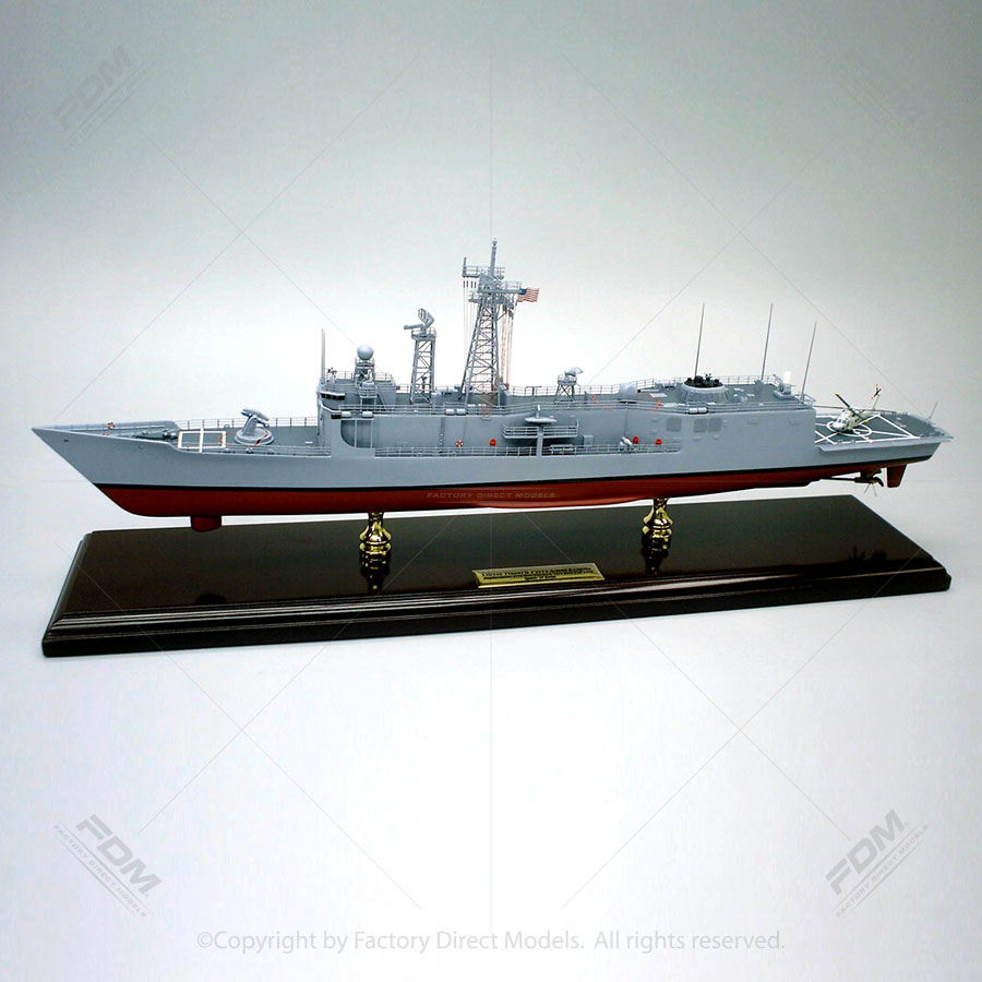 USS Oliver Hazard Perry (FFG-7) Model Ship
