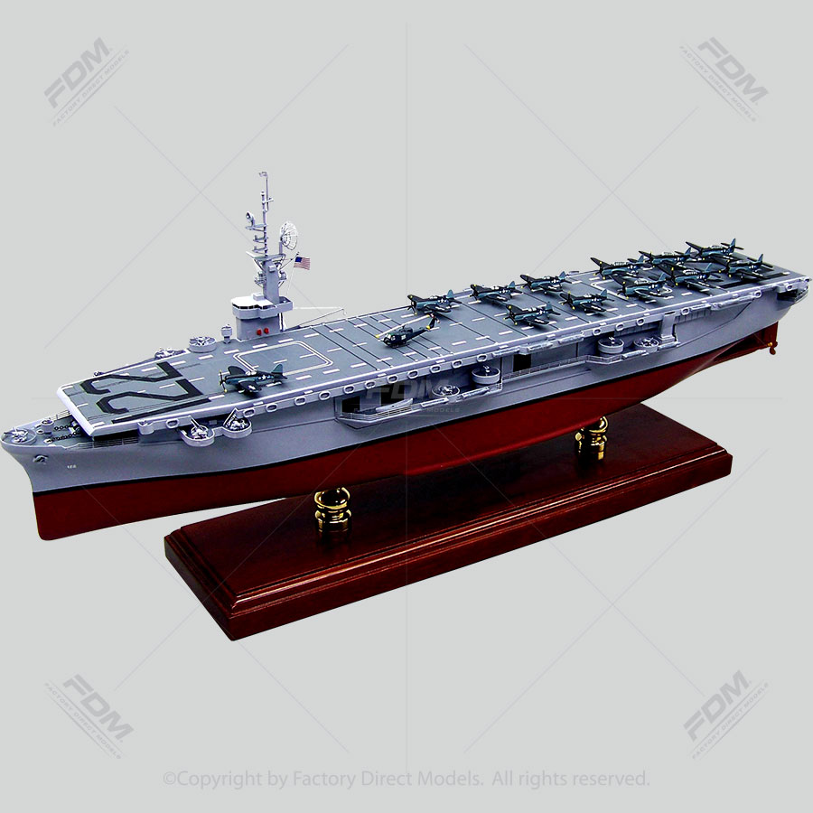 USS Palau (CVE-122) Model Ship