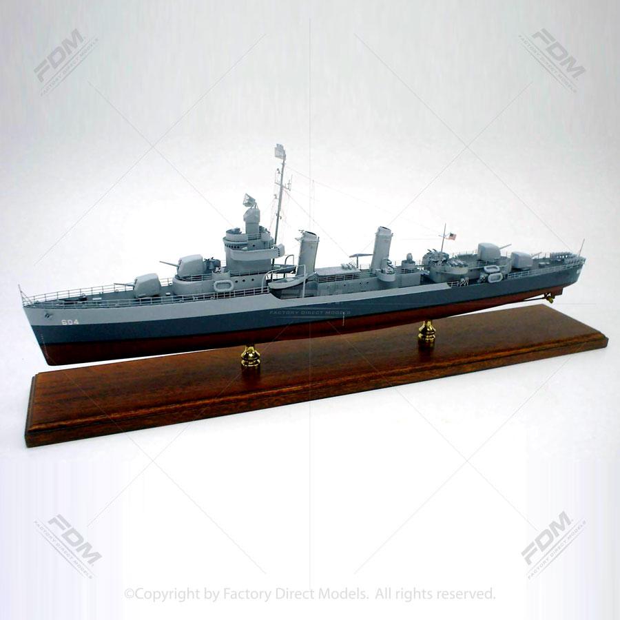 USS Parker DD-604 Ship Model