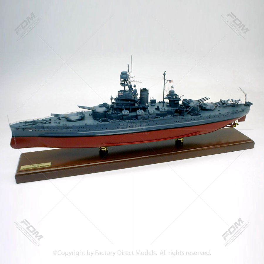 USS Pennsylvania (BB-38) Model Ship