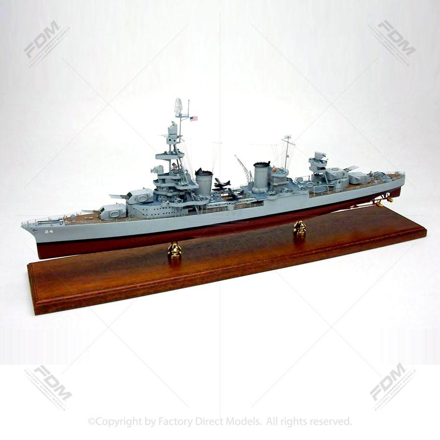 USS Pensacola (CA-24) Model Ship