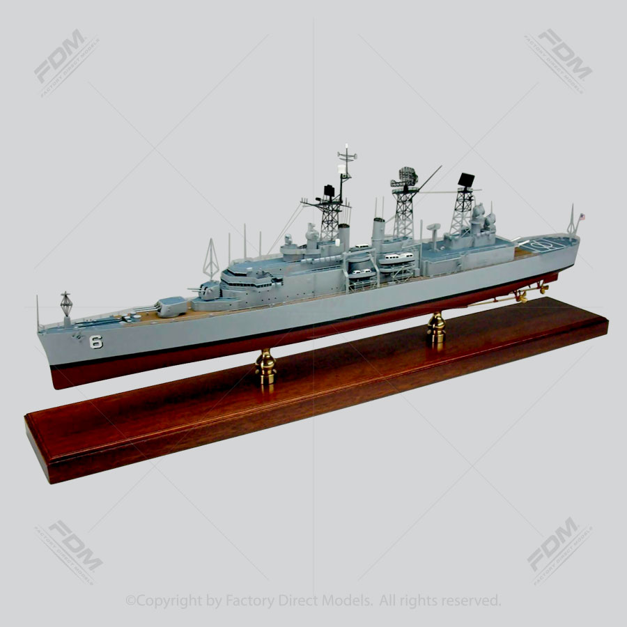 USS Providence (CLG-6) Model Ship